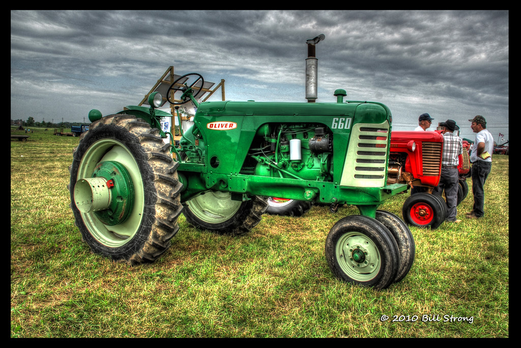 oliver 660 another green tractor but still not a deere flickr Oliver Lawn Tractor oliver 660 by bill strong