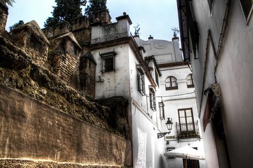 Jewish quarter street seville calle de la juder a sevil - Calle correduria sevilla ...