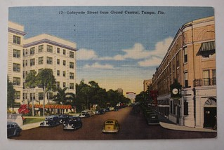 1955 Tampa Postcard Cover | by anneh632