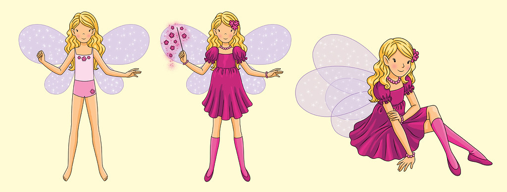Heather Dolls Heather The Violet Fairy Creates All The