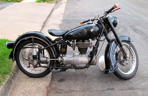early 1950's bmw motorcycle   flickr