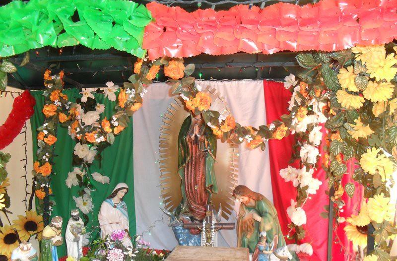 Decoracion Para Altar De Virgen De Guadalupe ~ Altar a la Virgen de Guadalupe  Arismel Villegas, Altar a l