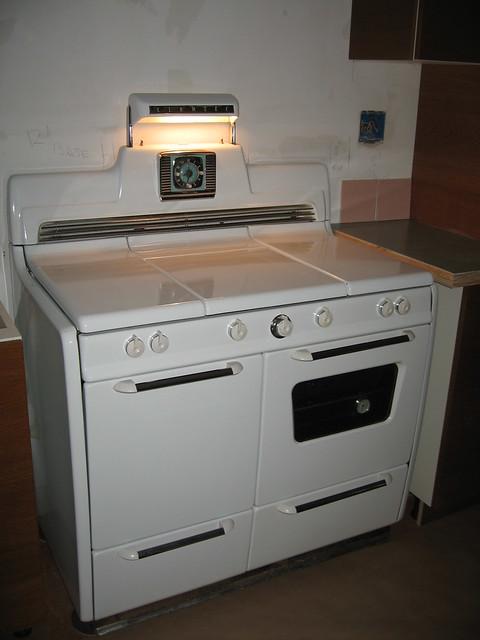 vintage kenmore gas stove range flickr photo sharing