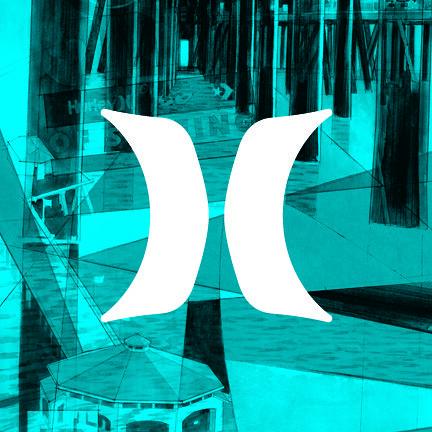 Image Gallery hurley surf logo