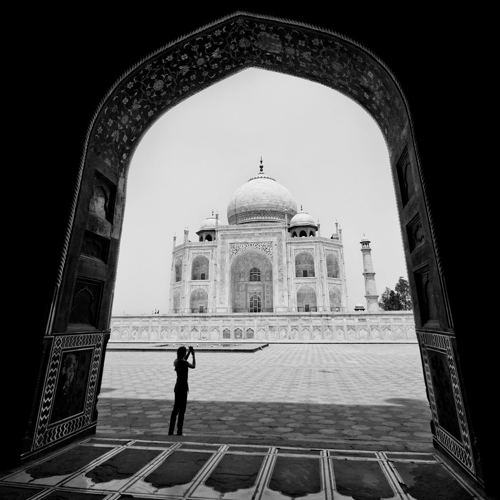 Taj Mahal   Within The Frame   Feel free to visit My BLOG   Flickr
