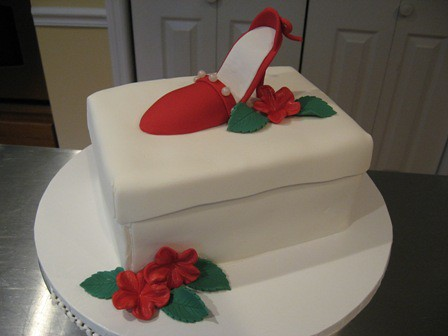 Cakes With Shoes On Them