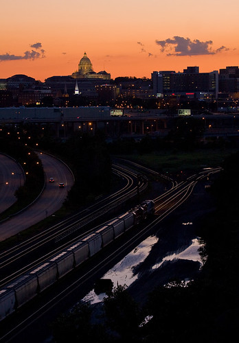 Soo Line Sunset; Saint Paul, MN | by Ottergoose