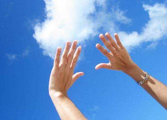 Jogue Suas Mãos Para O Céu E Agradeça