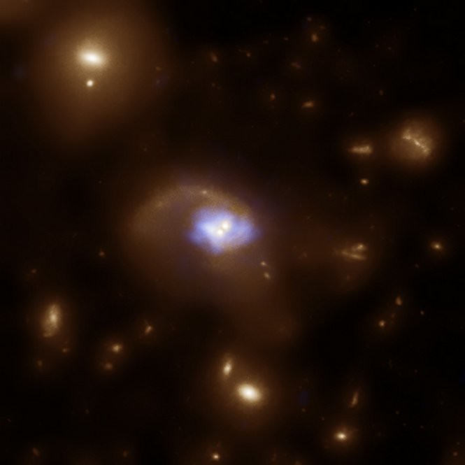 A Black Hole 'Slingshot' (NASA, Chandra, Hubble, 06/30/10 ...