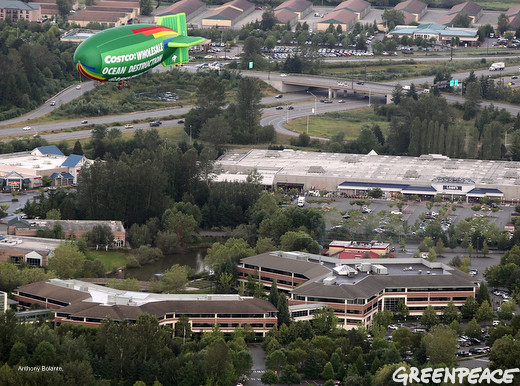 Beautiful Costco Headquarters Visit In The Air The Greenpeace