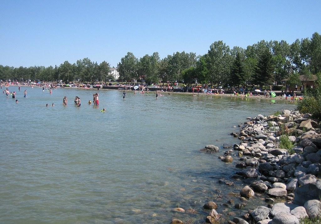 beach sylvan lake alberta canada the beach at sylvan. Black Bedroom Furniture Sets. Home Design Ideas