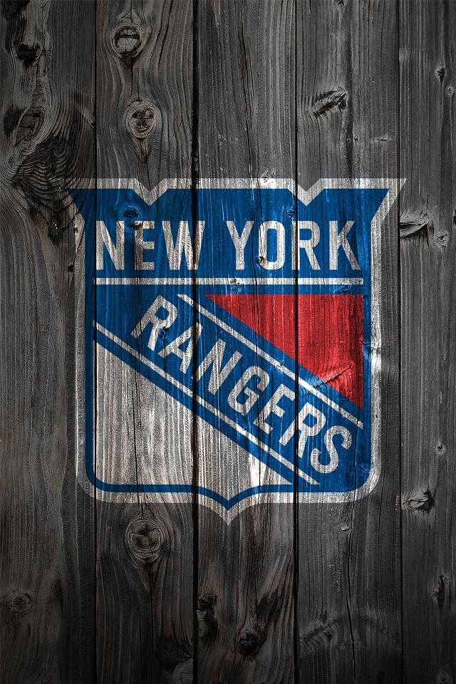 New York Rangers Logo Wallpaper New York Rangers Wood Iphone 4