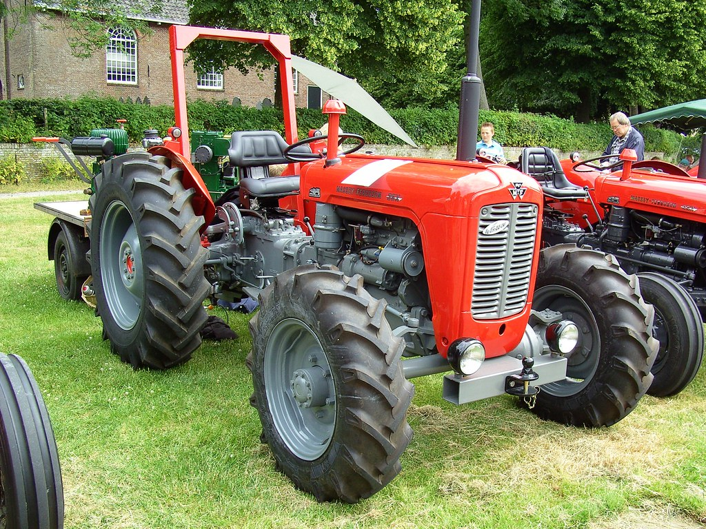 1963 Massey-Ferguson FE-35X Four wheel drive | This tractor … | Flickr