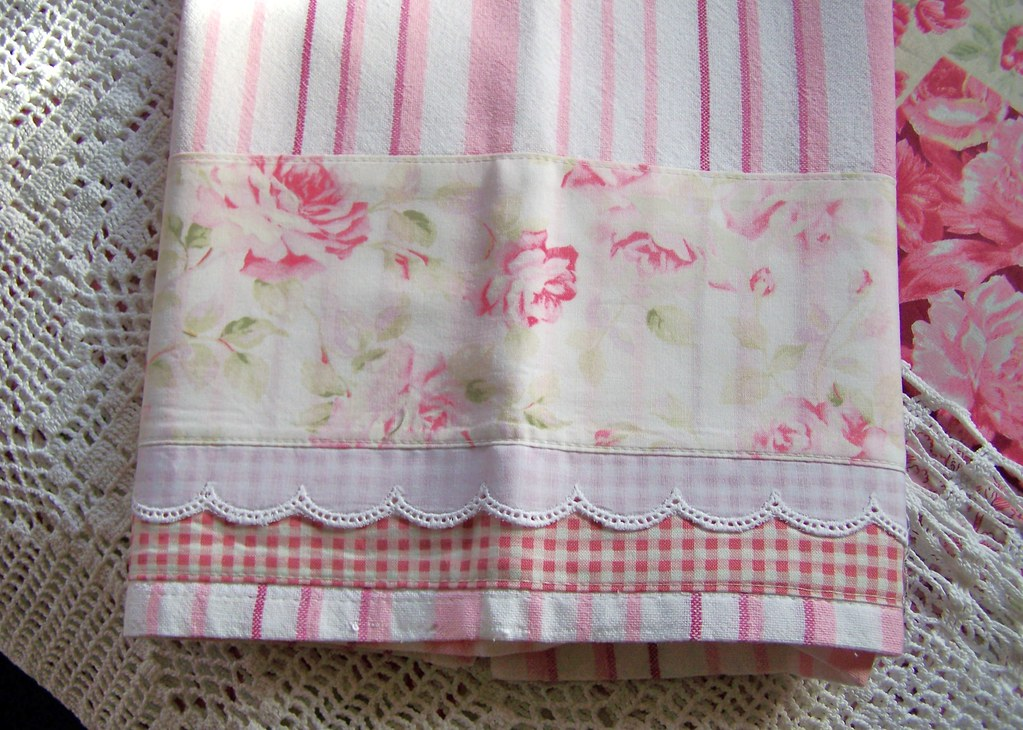 shabby chic tea towels decorative shabby chic tea