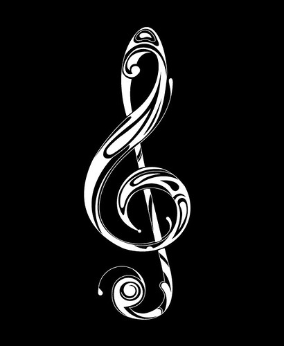 how to draw a treble clef in illustrator
