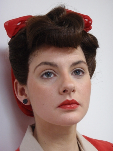 1940s hair and makeup styles 1940 s hair and makeup southwestgems flickr 5273