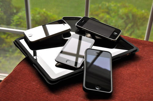 my iPhone family pile | by blakespot