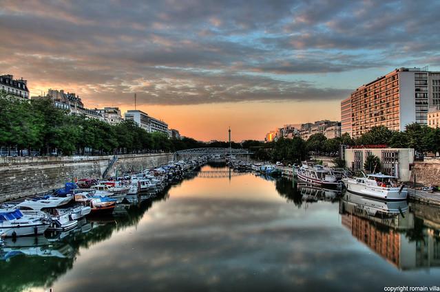 Bastille port de l 39 arsenal de paris flickr photo - Port de l arsenal paris ...