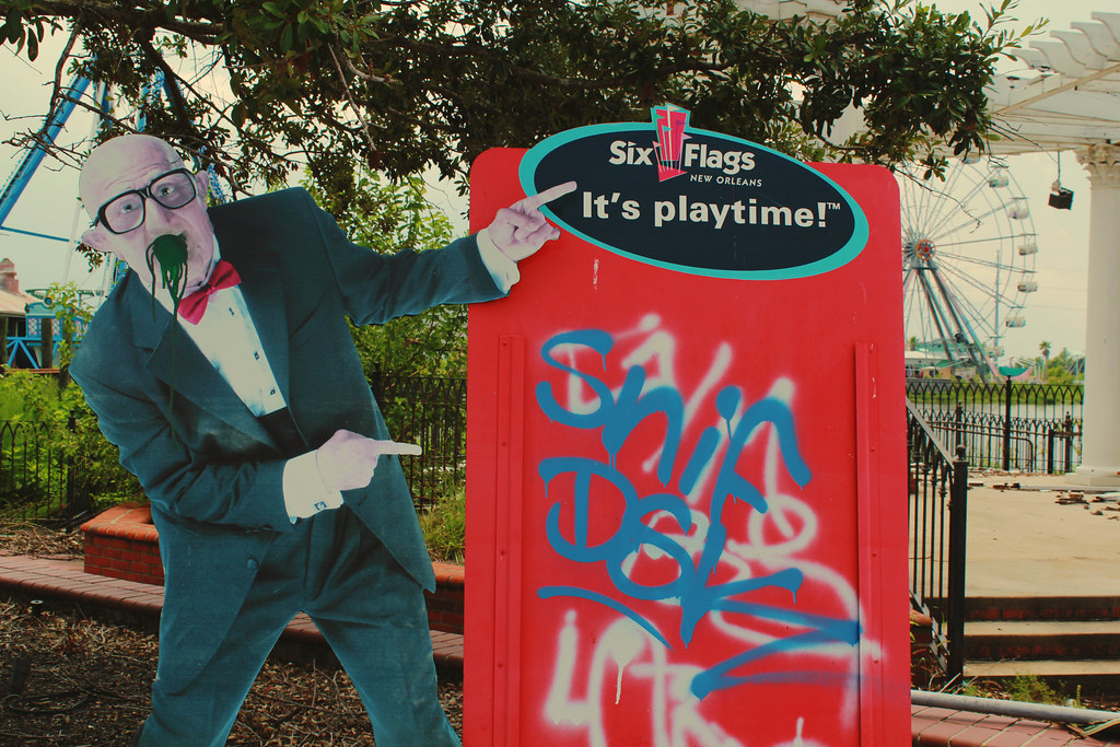 Six Flags New Orleans - Visit #2 - 40 | The Creepy Old Man (u2026 | Flickr