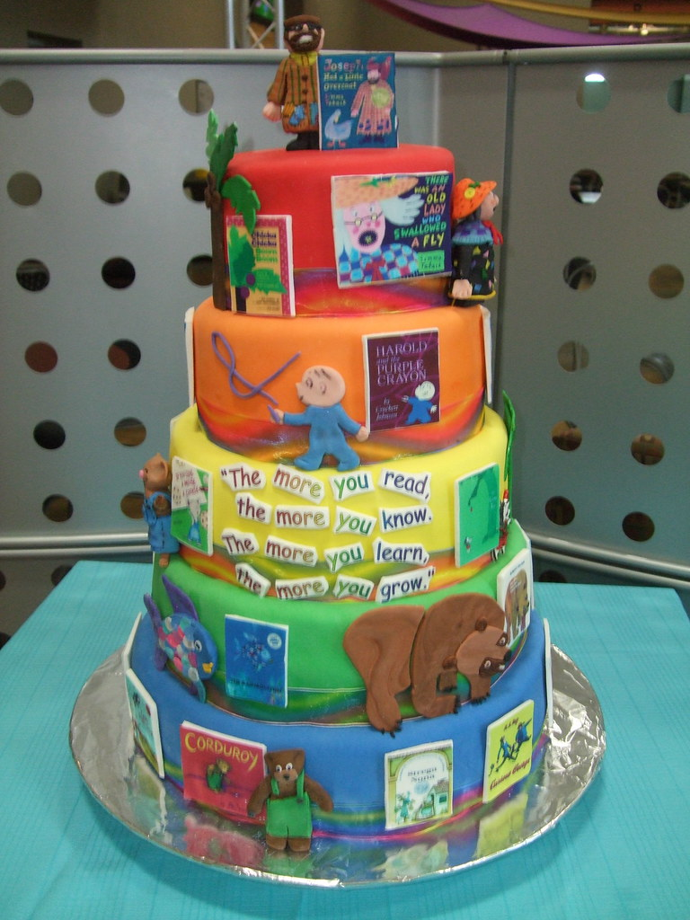 Favorite Childrens Books Cake This Was Made For A Children Flickr