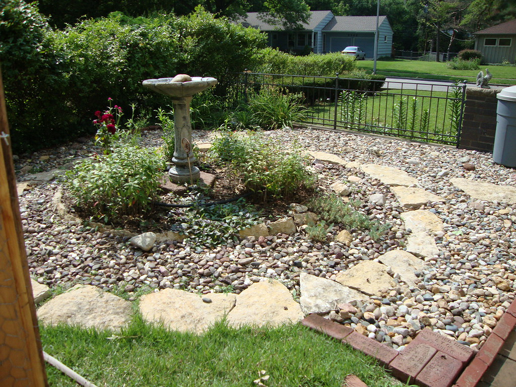 ... Bird Bath U0026 Rock Garden | By Don N Kathyu0027s Stream