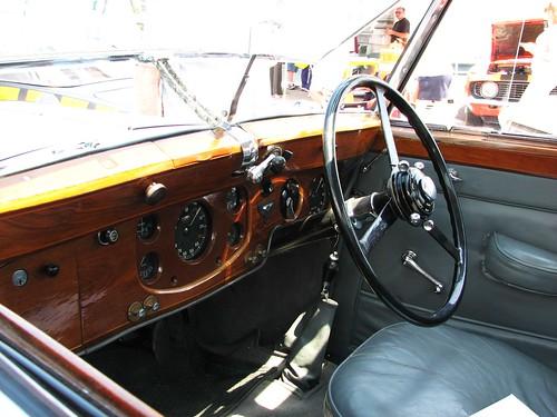 A 1939 Bentley In July 2010 The Fancy Wooden Dashboard