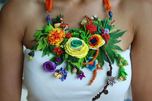 Bounty Garden - Necklace | by VeruDesigns