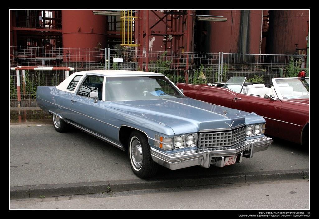 1974 Cadillac Coupe Deville 01 Deville Also De Ville