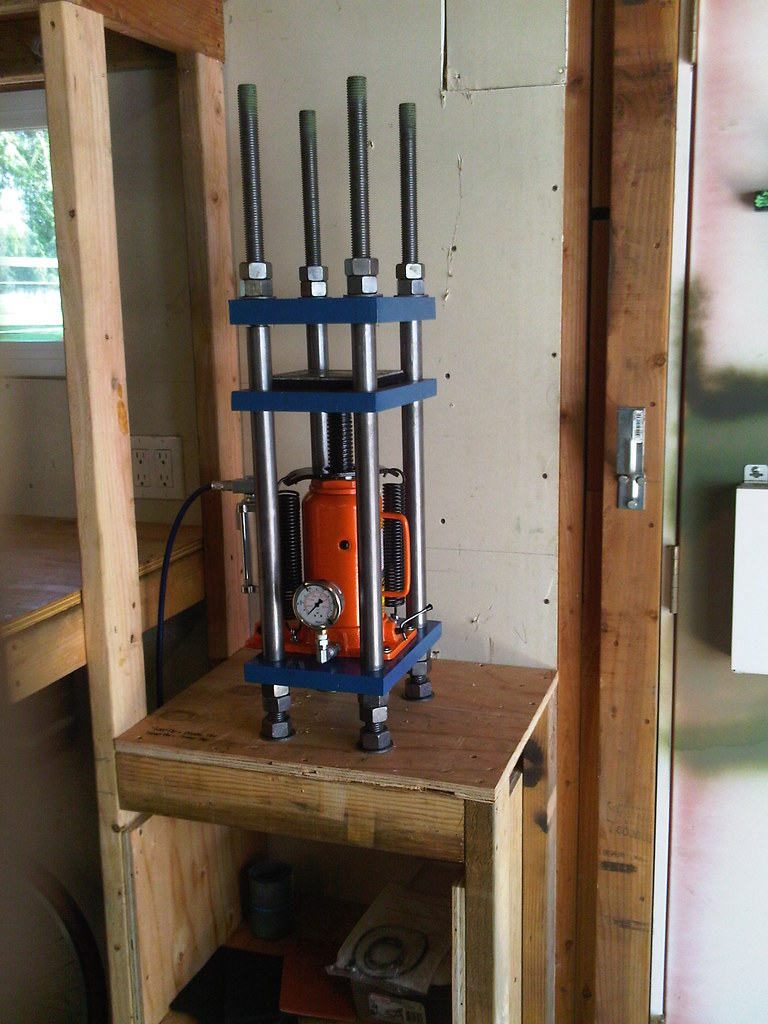 Hydraulic Press Build No 3 Homebuilt Hydraulic
