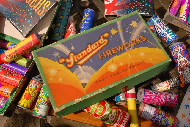 Epic Fireworks - Selection Box of Standard Firework ...