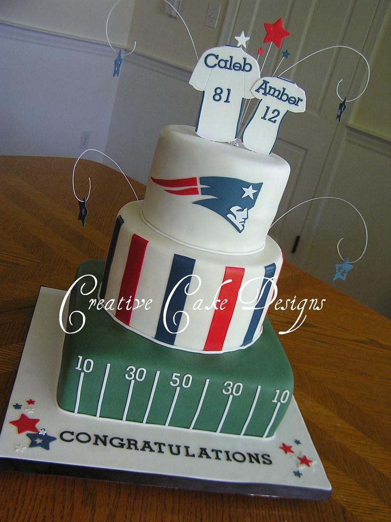 Topper Cake Patriots