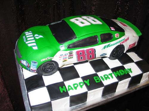 Race Car Birthday Cake Pan