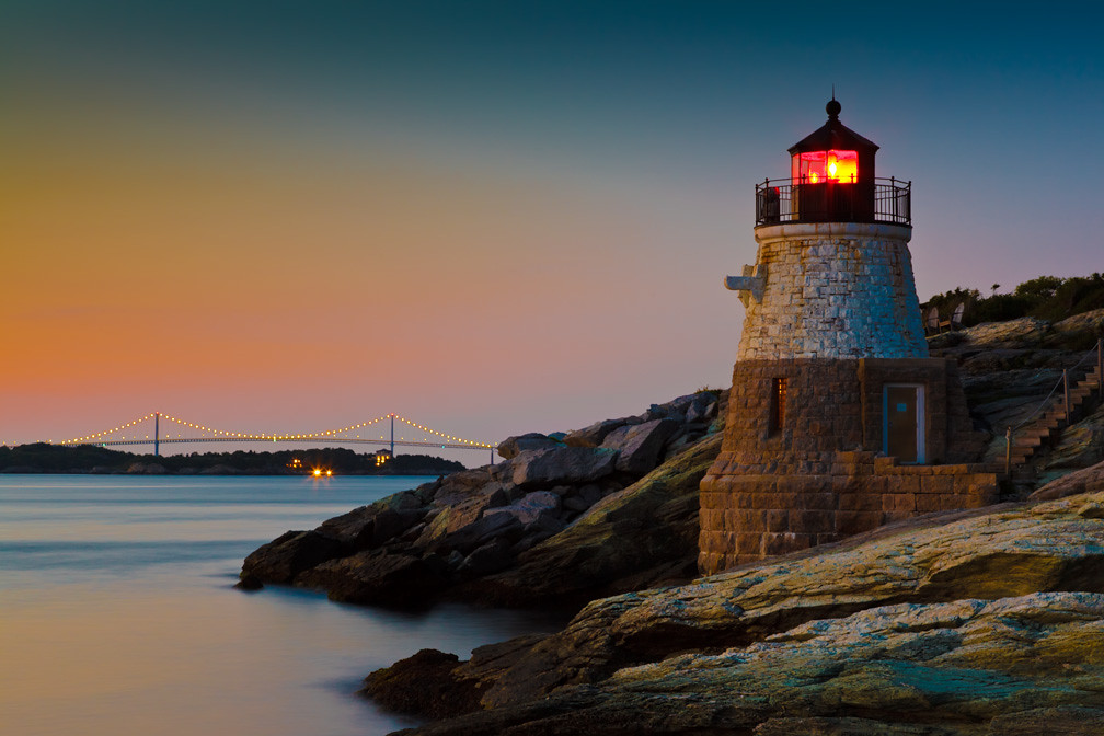 Castle Hill Lighthouse Newport Ri 100x Nd Filter 3