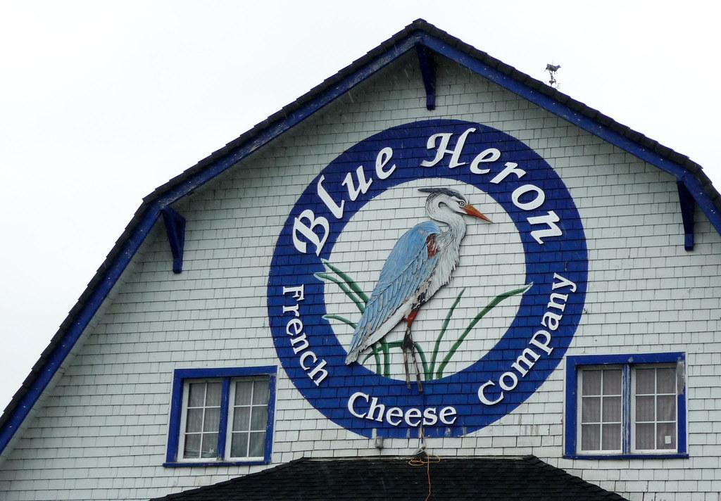 blue heron cheese