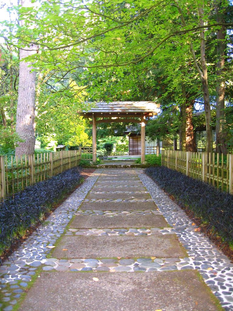 Bloedel 2010 Zen Garden Entrance The Bloedel Reserve Is A Flickr