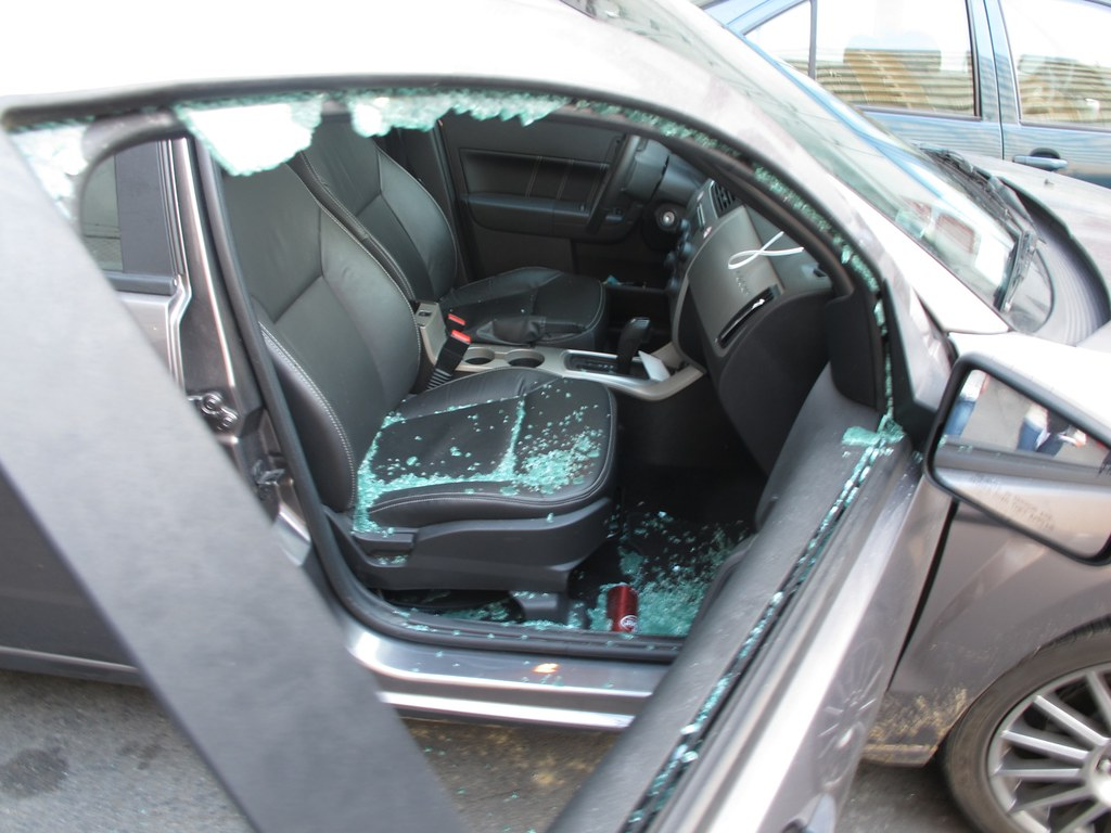 Broke Into The Car San Francisco Criminality After 4