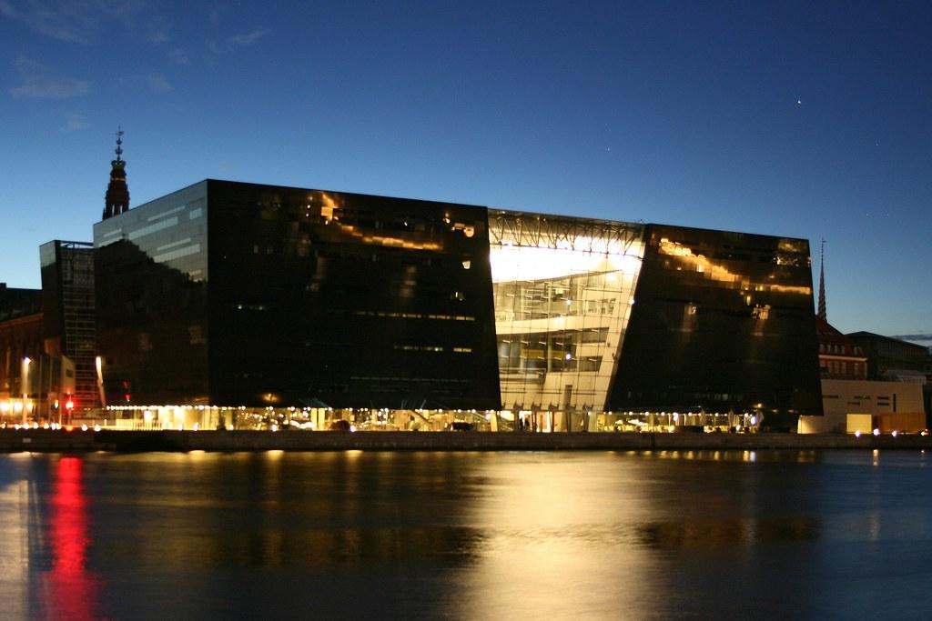Copenhagen The Royal Library The Black Diamond At The