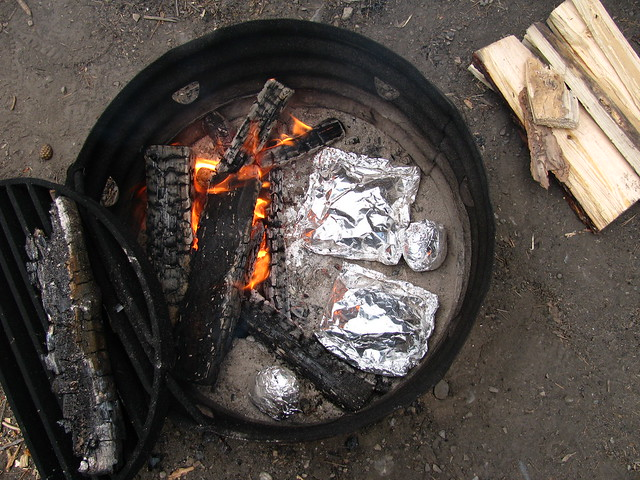 Foil Packets in the Fire