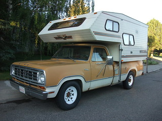 1974 Dodge D200 pickup - camper special | by dave_7