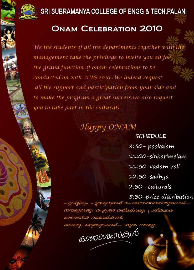Onam Invitation-1 | View it in larger format........ I ...