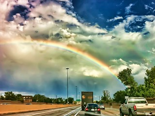 27 of 52 [2010] - Rush Hour Rainbow - HDR (iPhone4) | by chrisbdesign
