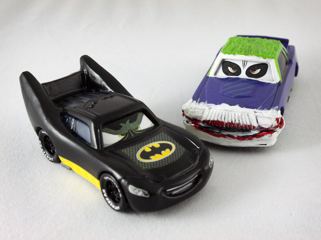 Batcar and The Joker Car | Jenny Brown | Flickr