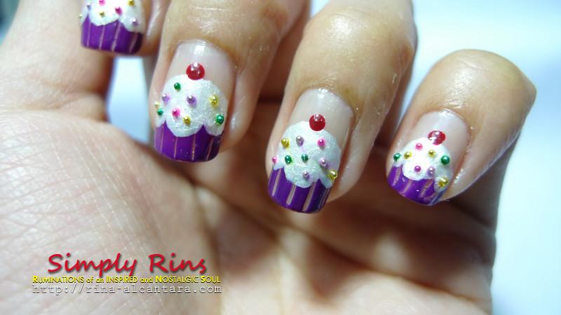 Nail Art Cupcakes 07 Rina Alcantara Flickr