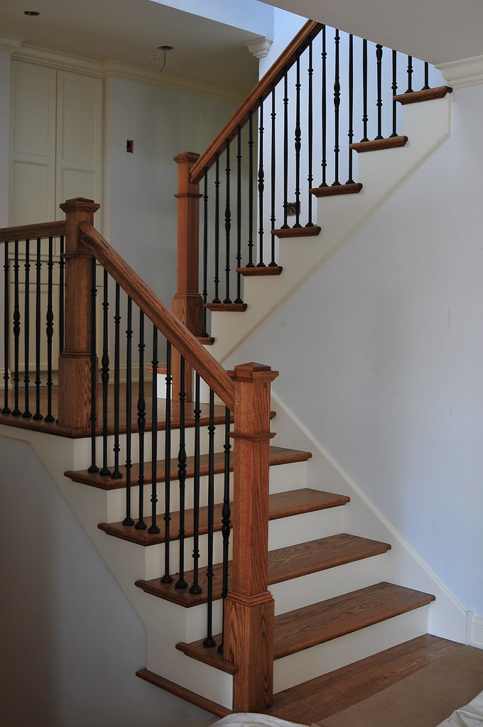 Riverside Il Staircase New Staircase Was Installed For