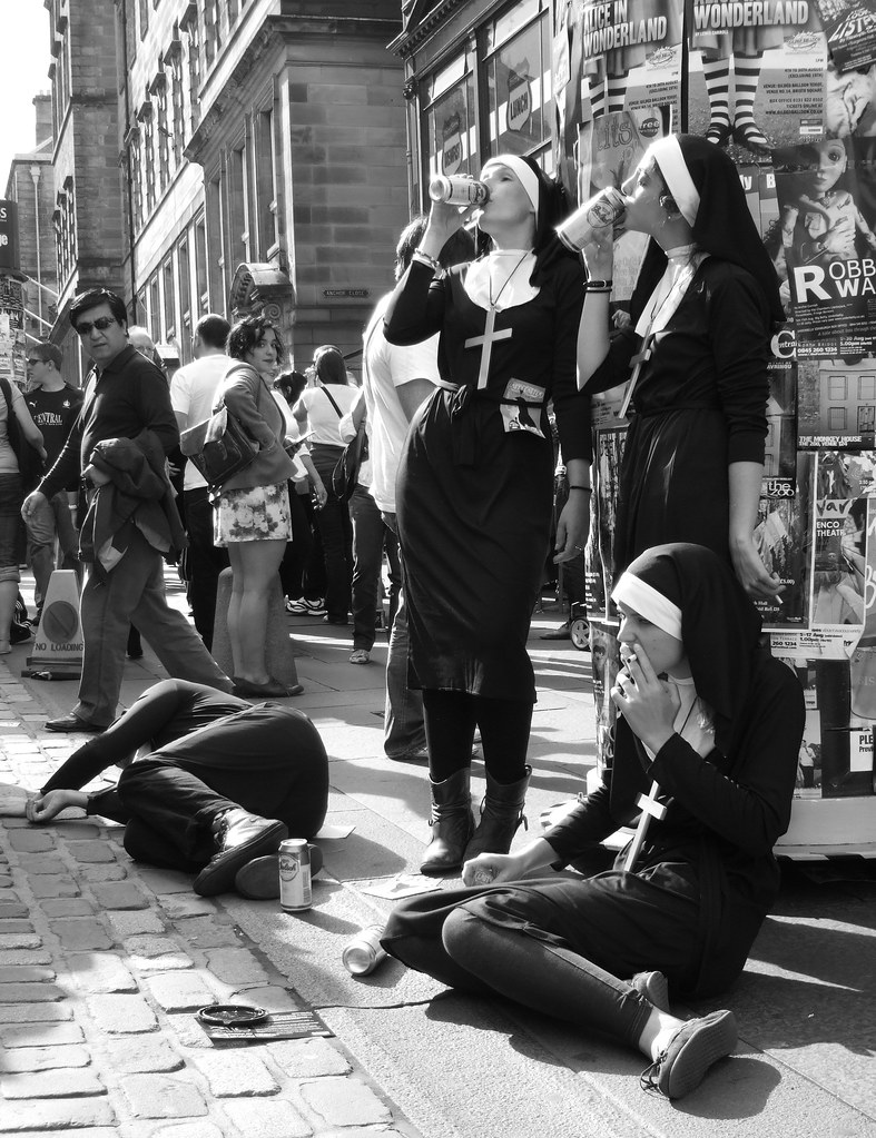 Fringe  Naughty Nuns  By Byronv