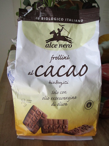 Alce Nero Cacao Cookies | by veganbackpacker