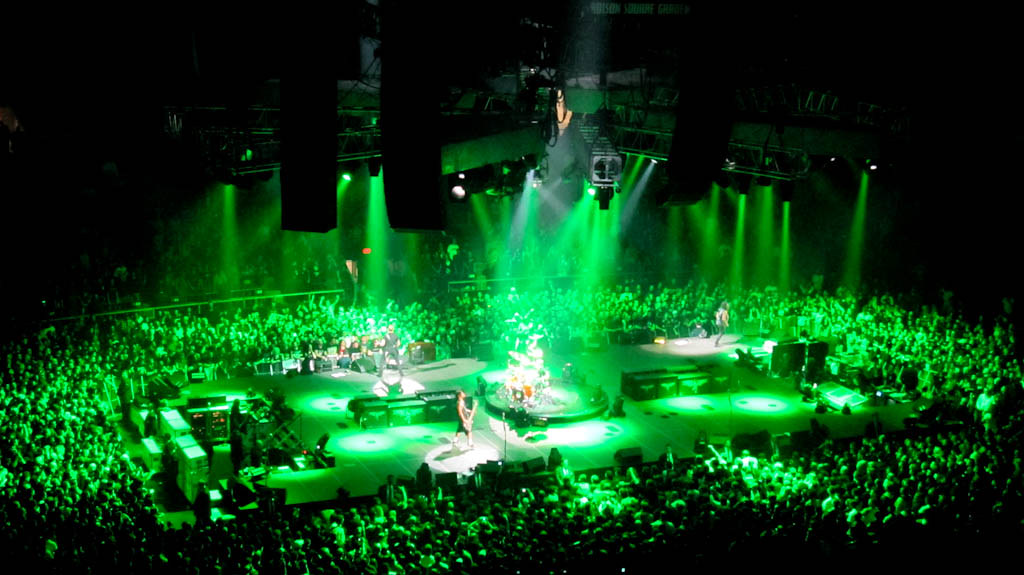 Metallica - Madison Square Garden | Metallica in the Madison… | Flickr