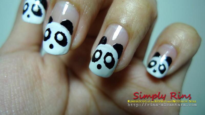 Nail Art Panda 03 | Rina Alcantara | Flickr