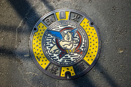 Chikugo City Manhole Cover | by pokoroto