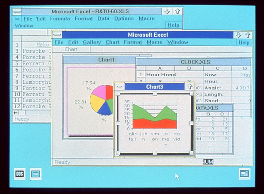Make A Chart In Excel: Excel 2.0 Screenshot | Microsoft Sweden | Flickr,Chart